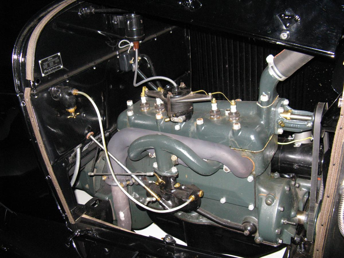 1929 FORD MODEL A 5 WINDOW STANDARD COUPE 70711 Engine.jpg